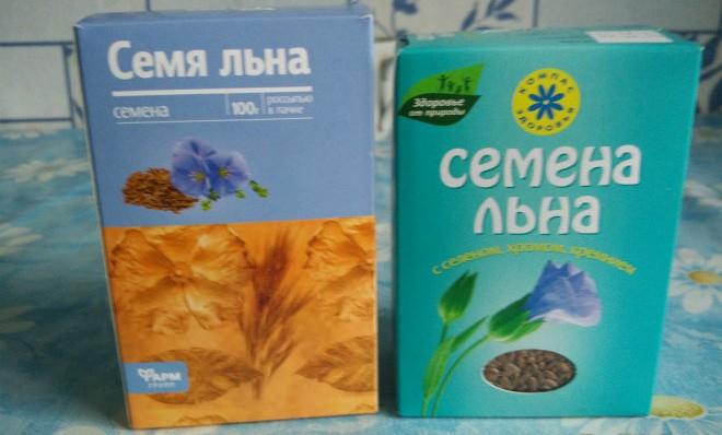 Виды льняных семян